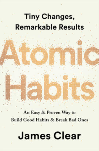 Cover of Atomic Habits.