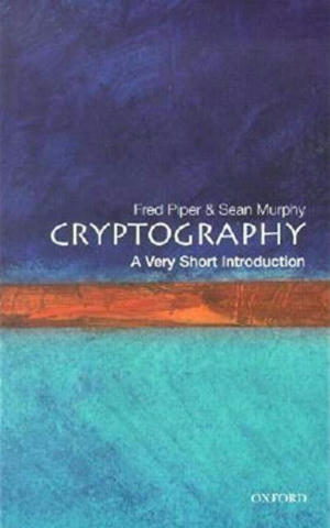 Cover of Cryptography: A Very Short Introduction.
