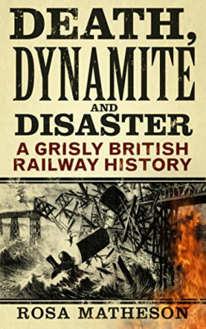 Cover of Death, Dynamite and Disaster.