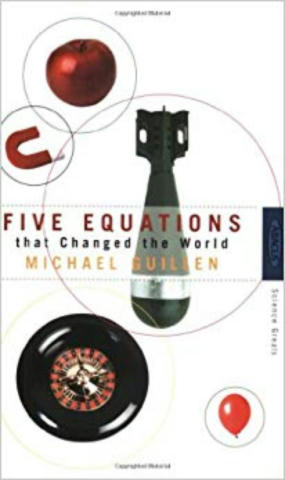 Cover of Five Equations That Changed the World.