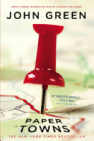 Cover of Paper Towns.