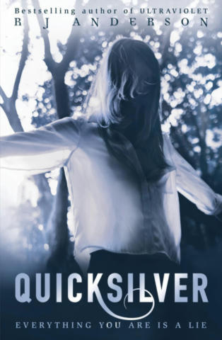 Cover of Quicksilver (Ultraviolet, #2).
