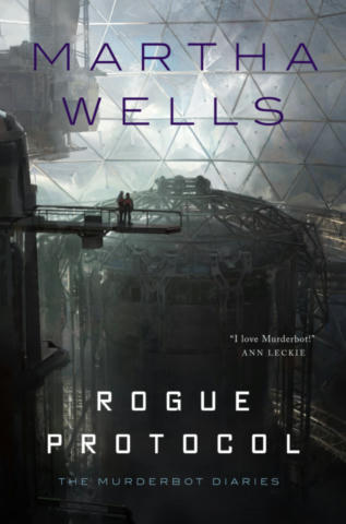 Cover of Rogue Protocol (The Murderbot Diaries, #3).
