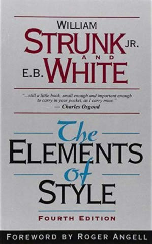 Cover of The Elements of Style.