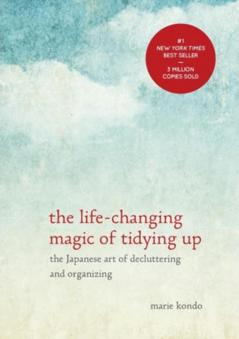 Cover of The Life-Changing Magic of Tidying Up.