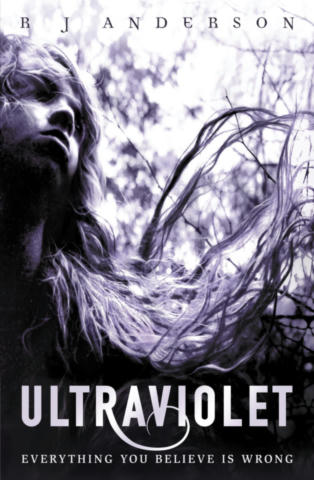 Cover of Ultraviolet (Ultraviolet, #1).